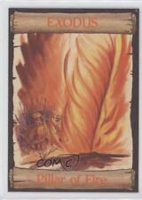 1989 re-Ed Bible Cards Exodus #4 Pillar of Fire Non-Sports Card 0q3
