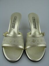 Valleverde Damen Sandale in beige/gold Gr.35
