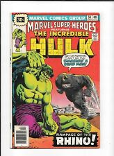 MARVEL SUPER-HEROES #58 ==> VF- .30 CENT VARIANT MARVEL COMICS 1976 HULK