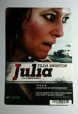 JULIA TILDA SWINTON COVER ART MINI POSTER BACKER CARD (NOT a movie )