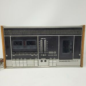 TANDBERG SERIES TCD 300 CASSETTE RECORDER DECK OUT OF 1970'S Vintage