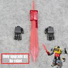 Upgrade KIT For SS86&MP08 Grimlock Plating Transparent Sword & Movable Hand