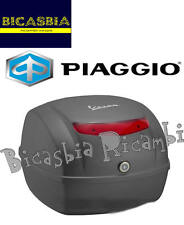 9422 - BAULETTO POSTERIORE 32 LT GRIGIO TITAN 742/B VESPA 50 125 150 S
