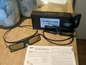 2 X Samsung Smart TV Active 3D Glasses SSG -4100GB