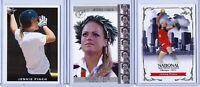 (3) JENNIE FINCH LEAF 2004 OLYMPICS U.S.A SOFTBALL ROOKIE CARD LOT! GOLD SEALED!