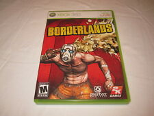 Borderlands (Microsoft Xbox 360) Original Release Game Complete Nr Mint!