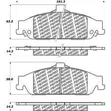 Disc Brake Pad Set fits 1999-2005 Pontiac Grand Am  CENTRIC PARTS
