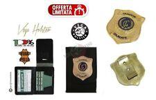 Portafoglio Portadocumenti Placca clip Guardia Giurata GPG IPS 1WD110