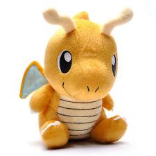 "Yellow Doll Toy Gift Soft Pokemon Dragonite Lovely Pokedoll Stuffed Plush 7.5"""