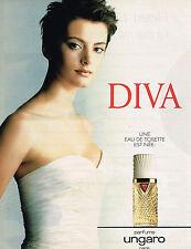 PUBLICITE ADVERTISING 025  1996  DIVA  parfum UNGARO