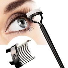 Eyelash Mascara Guide Eye Lash Comb Eyebrow Curler Brush Cosmetic Makeup Tools