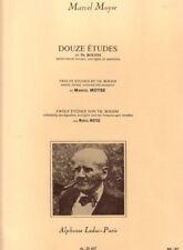 12 Etudes de Boehm pour Flûte