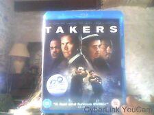 Blu ray de takers IMPORT ANGLAIS