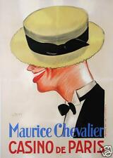 AFFICHE ANCIENNE 1926 MAURICE CHEVALIER CASINO DE PARIS par DON
