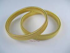 Shirt Sleeve Armbands Gold Metal Band Elasticated Formal Dress Work Snooker