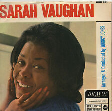 """SARAH VAUGHAN MOONGLOW """"7 SINGLE WITH THE QUINCY JONES ORCHESTRA --1966"""