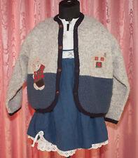 TRACHTEN  Set ☺ Kleid + Jacke + Bluse  ☺ DIRNDL ☺ Gr. 98 ☺ *TOP*   ☺