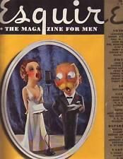 1938 Esquire May-Irish wit and wakes; Black blue grass; Coast Guard; Jewish Farm