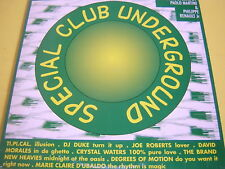 LP X 2  SPECIAL CLUB UNDERGROUND  PAOLO MARTINI+MARIE CLAIRE D'UBALDO+EAST 17
