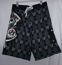 SONS OF ANARCHY PROSPECT Board Shorts swimming trunks - Size Small