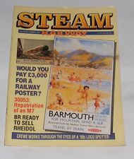 STEAM RAILWAY MAGAZINE SEPTEMBER 1987 - WOULD YOU PAY £3000 FOR A RAILWAY POSTER