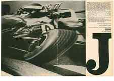 1964 JIM CLARK WINS 2ND PLACE INDIANAPOLIS 500  ~  GREAT ORIGINAL 4-PAGE ARTICLE