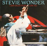 """STEVIE WONDER i just called to say i love you/instrumental TMG 1349 7"""" PS EX/EX"""