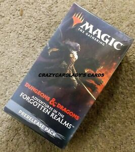 MAGIC MTG ADVENTURES IN THE FORGOTTEN REALMS PRERELEASE KIT BUY MORE & SAVE