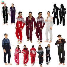 Mens Ladies Onsie1 unisex Jumpsuit Aztec Print lot Sleepwear pyjama one piece
