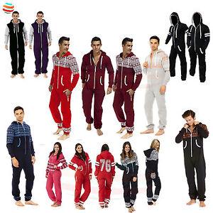 Mens Ladies Onsie1 unisex Jumpsuit Aztec Print Sleepwear pyjama one piece