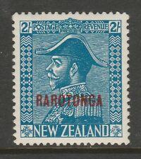 Cook Islands 1926 George V 2/- Light blue SG 91 Mint.