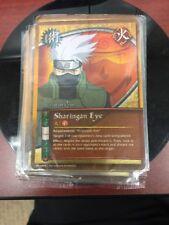 Naruto card Sharingan Eye: SEALED and HOLO!! Very Rare!