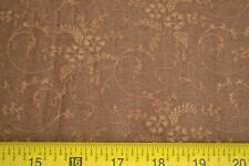 By 1/2 Yd, Tan on Brown Quilting Cotton, Windham/Women of Courage/Gere, M8091