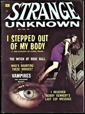 Strange Unknown #1 Fn 1969, Ufo, Loch Ness Monster, And Bobby Kennedy, Oh My!