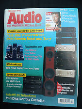 Audio 10/95. Sony MDX C 150 RDS, Pioneer alchimiste H 9200, Clarion ARX 9170r, JVC KS 808 R
