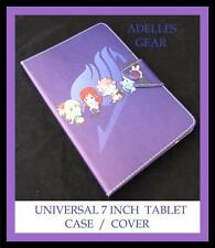 KIDS OR CHILDRENS UNIVERSAL 7 INCH TABLET COVER CASE -FAIRY TAIL MANGA