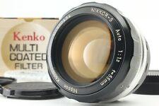 *Exc+5* Nikon Nikkor-S Auto 55mm f/1.2 Nippon Kogaku Japan Lens w/ Filter Japan