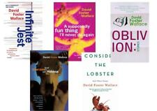 David Foster Wallace Books Set Collection - Infinite Jest, Consider The Lobster