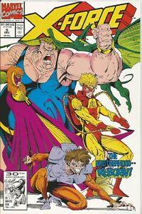 X-FORCE # 5 - DECEMBER 1991 - NEAR MINT