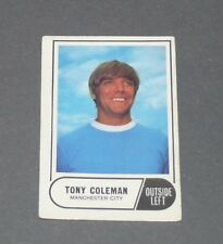 A & BC GUM CARD FOOTBALL ENGLAND 1969 TONY COLEMAN MANCHESTER CITY CITIZENS