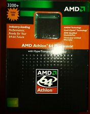 OVP de AMD Athlon 64 Processor 3200 socket 939 CPU Fan Disipador Ventilador