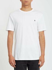 VOLCOM Stone Blank Mens T-Shirt - White