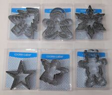 X'MAS COOKIES CUTTER 6 DIFFERENT STYLES