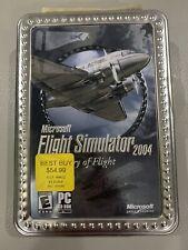 Microsoft Flight Simulator 2004 A Century Of Flight Metal Collectors Tin Case