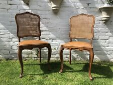 Beautiful Pair of Vintage French Dining Chairs In Immaculate Condition