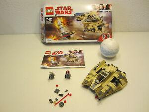 25# LEGO 75204 Star Wars Sandspeeder OVP und BA nicht komplett ???
