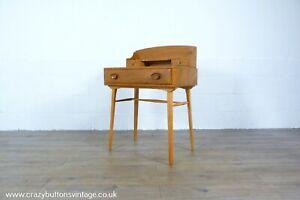 Ercol Windsor Elm Writing Desk or Dressing Table