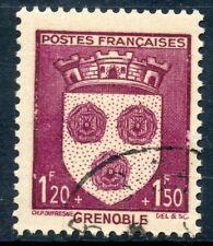 STAMP / TIMBRE FRANCE OBLITERE N° 557  BLASON / GRENOBLE