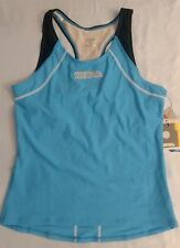 Women Triathlon Tank Size Large Comp Collection Pacific Blue Profile Design Nwt