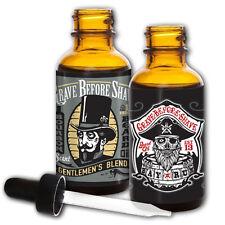 GBS Top Shelf Bourbon & Bay Rum Beard Oil Dual Pack
